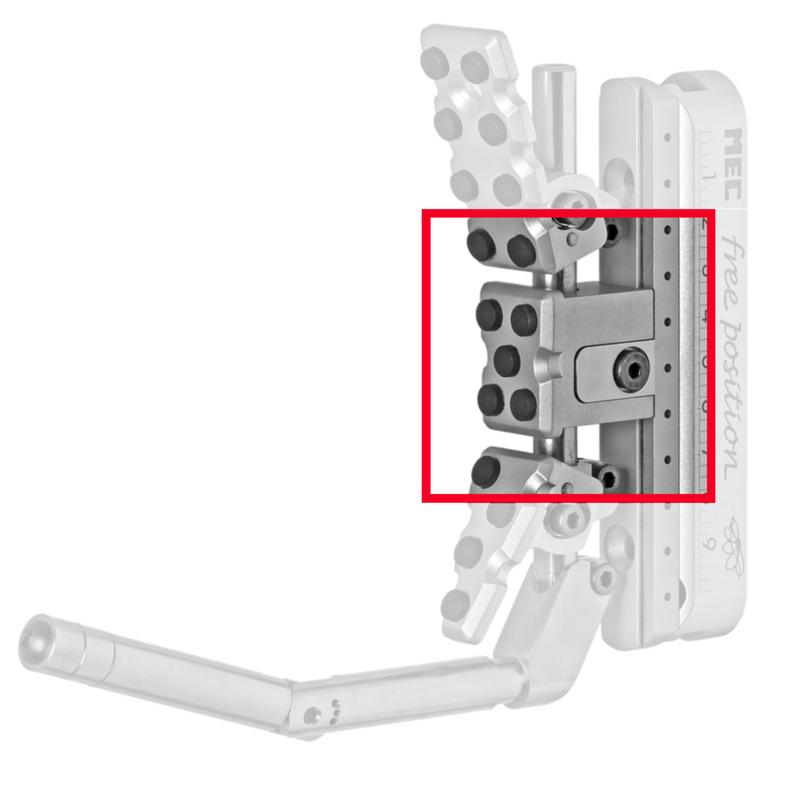 MEC Free Position II Butt-Plate Center Block
