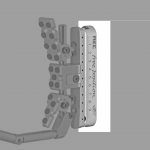 MEC Free Position - Buttplate Rail