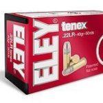 ELEY tenex .22LR Ammunition