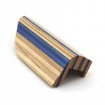Walther Cheekpiece Blue/Beige Right